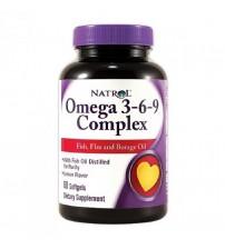 Omega 3-6-9 Complex (90cap)