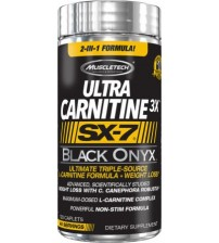 Ultra Carnitine 3X SX-7 Black Onyx (120tab)