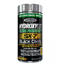 MuscleTech Hydroxycut Ultra Probiotic+ SX-7 Black Onyx
