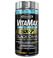 VitaMax Energy & Metabolism SX-7 Black Onyx for Men