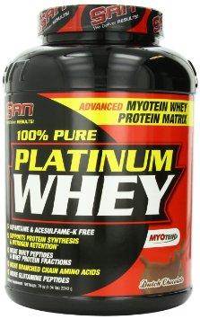 купить протеин 100 pure platinum whey от san